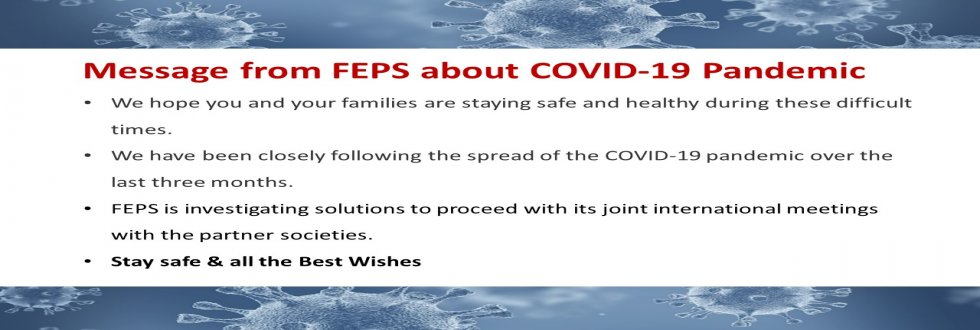 COVID-19 message from FEPS